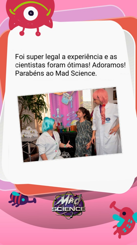 Mad Science Depoimentos